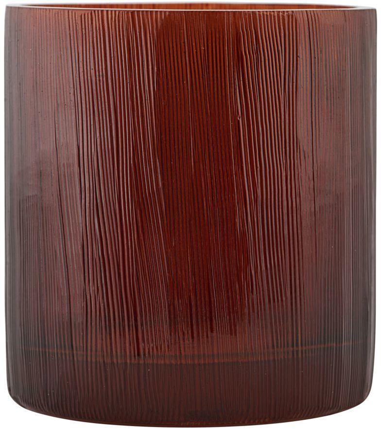 På billedet ser du variationen fra brandet House Doctor i en størrelse D: 7,5 cm. x H: 8 cm. i farven Brun