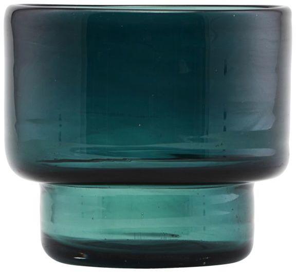 På billedet ser du variationen fra brandet House Doctor i en størrelse D: 10 cm. x H: 9 cm. i farven Blå/Grøn