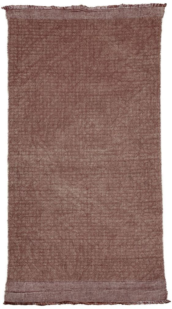 På billedet ser du variationen fra brandet House Doctor i en størrelse 90 x 200 cm. i farven Henna