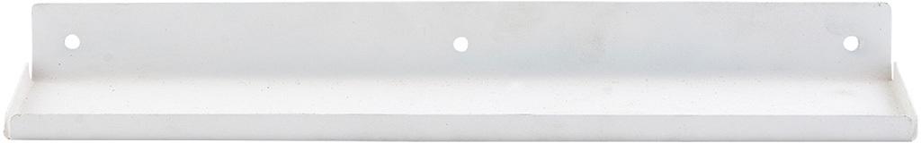 På billedet ser du variationen fra brandet House Doctor i en størrelse 43 x 11,5 cm. x H: 4 cm. i farven Hvid