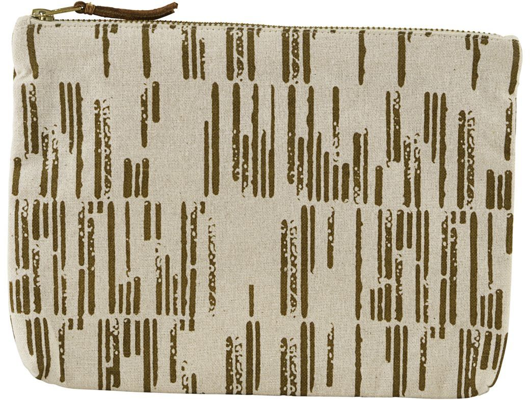 På billedet ser du variationen fra brandet House Doctor i en størrelse 23 x 16 cm. i farven Hvid/Brun