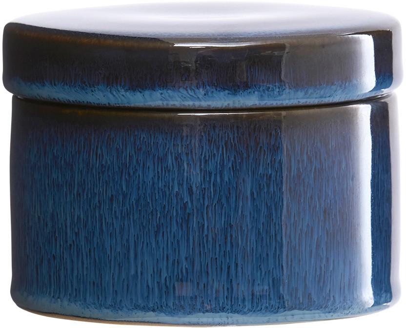 På billedet ser du variationen fra brandet House Doctor i en størrelse D: 11 cm. x H: 8 cm. i farven Mørkeblå