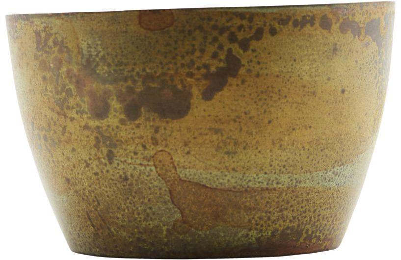 På billedet ser du variationen fra brandet House Doctor i en størrelse D: 8 cm. H: 4.7 cm. i farven Brun