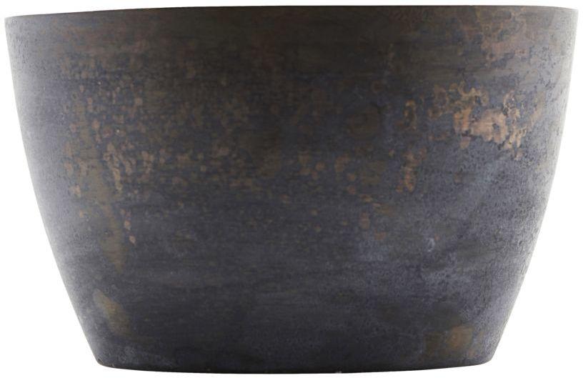 På billedet ser du variationen fra brandet House Doctor i en størrelse D: 8 cm. H: 4.7 cm. i farven Mørkeblå