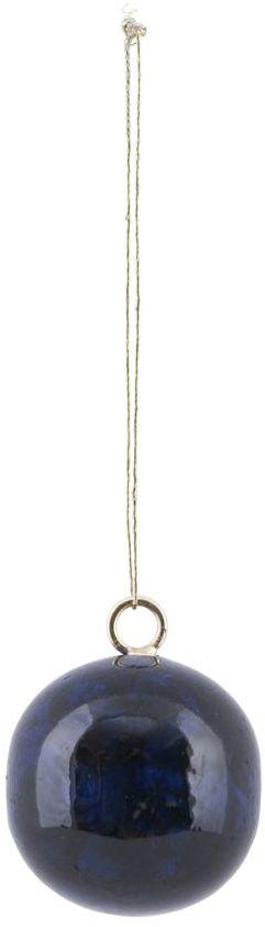 På billedet ser du variationen fra brandet House Doctor i en størrelse D: 4 cm. i farven Mørkeblå