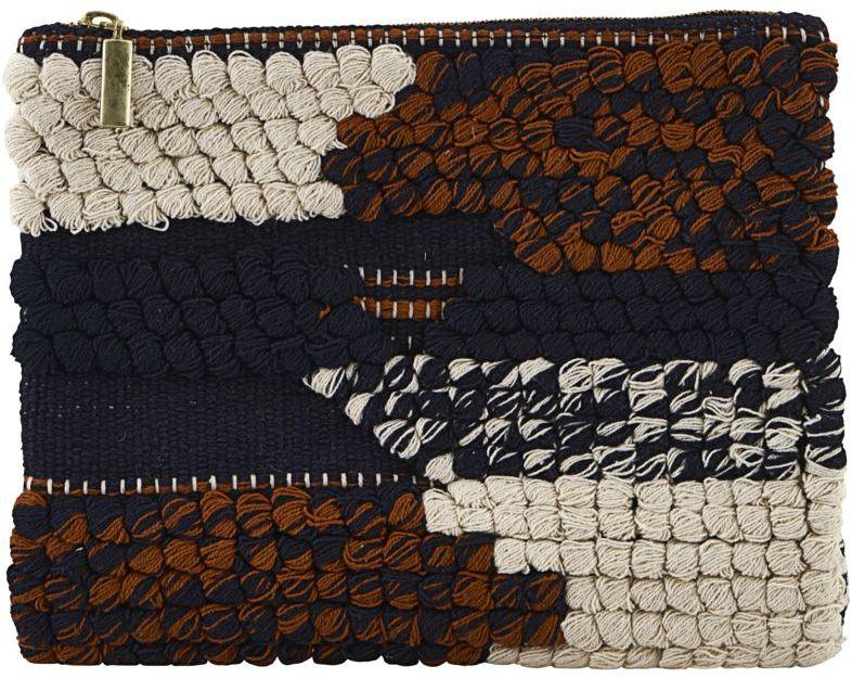 På billedet ser du variationen fra brandet House Doctor i en størrelse B: 23 cm. L: 16 cm. i farven Elfenben/Sort