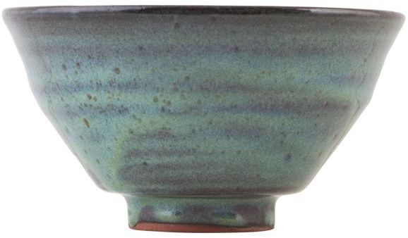 På billedet ser du variationen fra brandet House Doctor i en størrelse D: 14 cm. x H: 7 cm. i farven Blå/Grøn