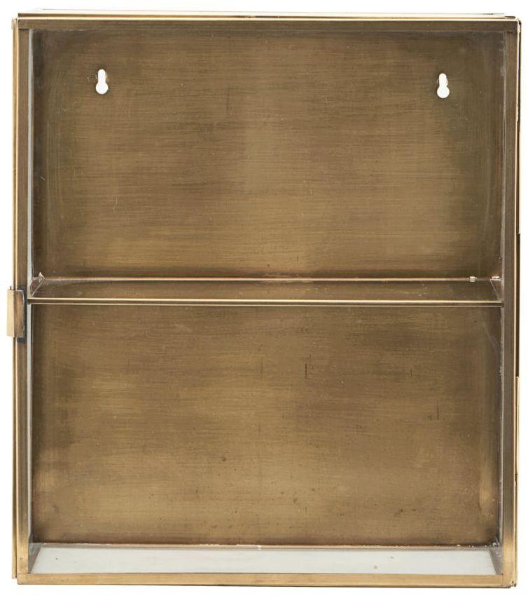 På billedet ser du variationen fra brandet House Doctor i en størrelse 35 x 15 cm. x H: 40 cm. i farven Messing