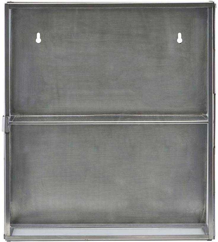 På billedet ser du variationen fra brandet House Doctor i en størrelse 35 x 15 cm. x H: 40 cm. i farven Zink