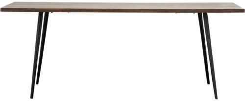 På billedet ser du variationen fra brandet House Doctor i en størrelse 80 x 200 cm. x H: 76 cm. i farven Mørkebrun