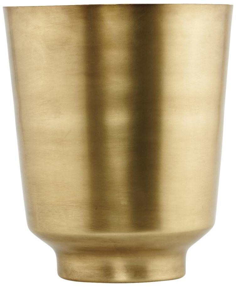 På billedet ser du variationen fra brandet House Doctor i en størrelse D: 20 cm. x H: 25 cm. i farven Messing