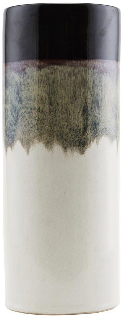 På billedet ser du variationen fra brandet House Doctor i en størrelse D: 10 cm. x H: 26 cm. i farven Hvid/sort