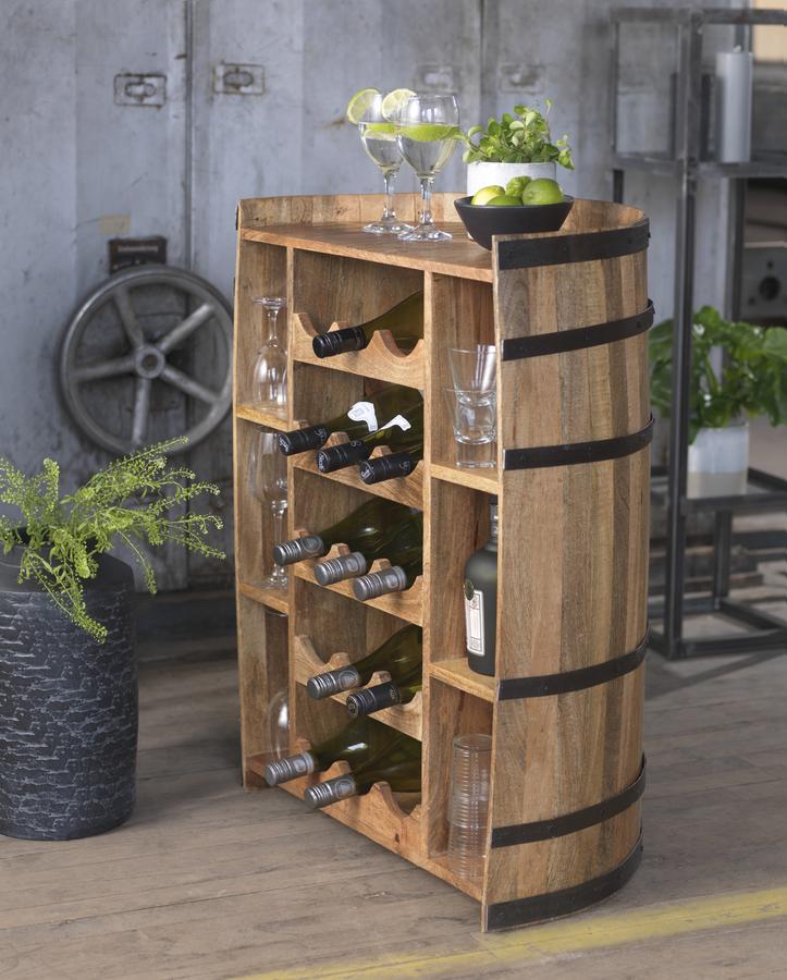 Kategoribillede til vinmøbler, som er gode til opbevaring af vin og spiritus