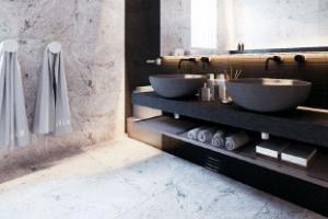 65c19512 Badeværelset er et rum, hvor små detaljer ofte er det, der gør den store  forskel. Indretningsmulighederne er ofte begrænsede, når det kommer til  møbler, ...