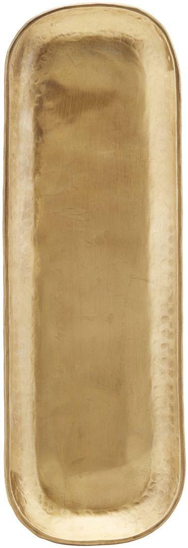 På billedet ser du variationen fra brandet House Doctor i en størrelse 35 x 11 cm. x H: 1 cm. i farven Messing