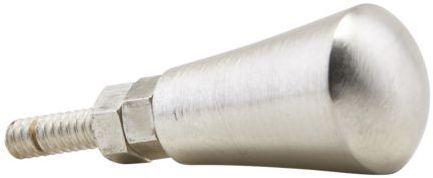 På billedet ser du variationen fra brandet House Doctor i en størrelse D: 1,6 cm. i farven Sølv