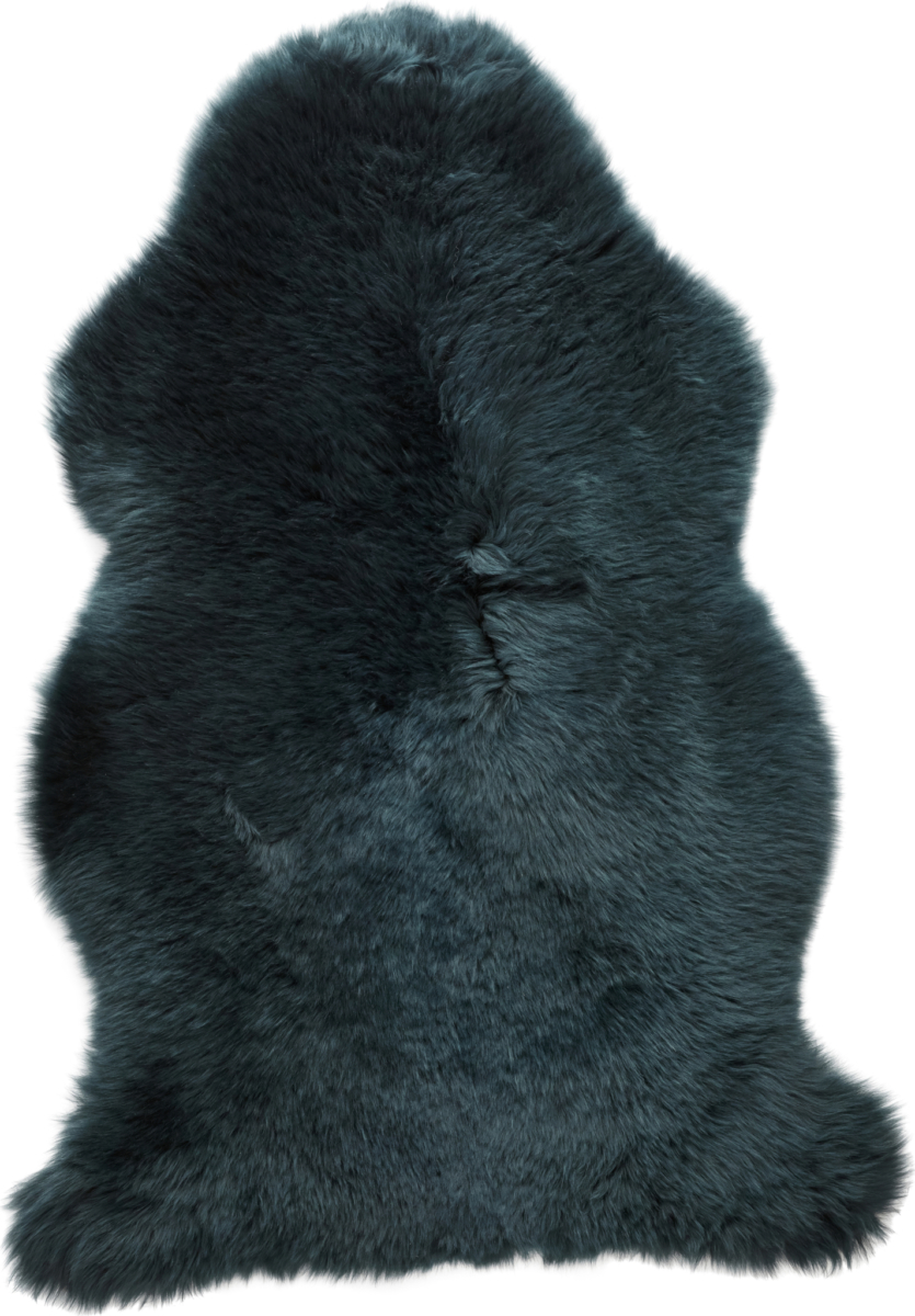 På billedet ser du variationen Lammeskind, Korthåret fra brandet Hübsch i en størrelse B: 94 cm. L: 61 cm. i farven Grøn