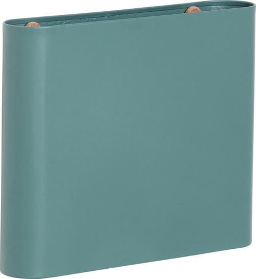 På billedet ser du variationen Magasinholder, Luned fra brandet Hübsch i en størrelse H: 25 cm. B: 30 cm. L: 6 cm. i farven Grøn