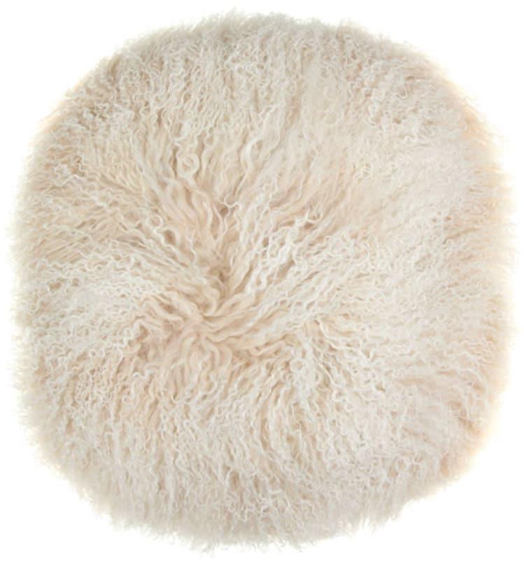 På billedet ser du variationen Sædeskind, Tibetan fra brandet Preform i en størrelse Ø: 38 cm. i farven Hvid