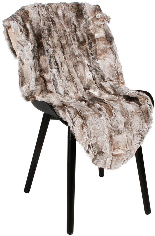 På billedet ser du variationen Skind, Rabbit fra brandet Preform i en størrelse B: 65 cm. L: 115 cm. i farven Mørkegrå