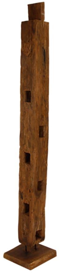 På billedet ser du variationen Træpæl, Unika fra brandet Preform i en størrelse H: 180 cm. i farven Mørk Natur