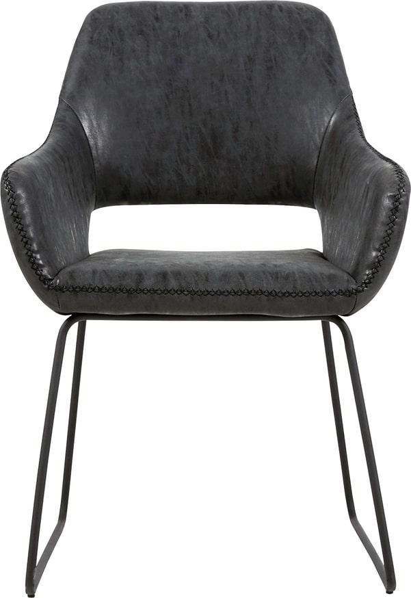 På billedet ser du variationen Spisebordsstol, Angel fra brandet Preform i en størrelse H: 83 cm. B: 56 cm. L: 48 cm. i farven Sort