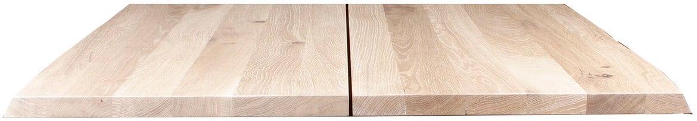 På billedet ser du variationen Plankeplade, Curve plade fra brandet Preform i en størrelse H: 3 cm. B: 72 cm. L: 72 cm. i farven Lys Natur