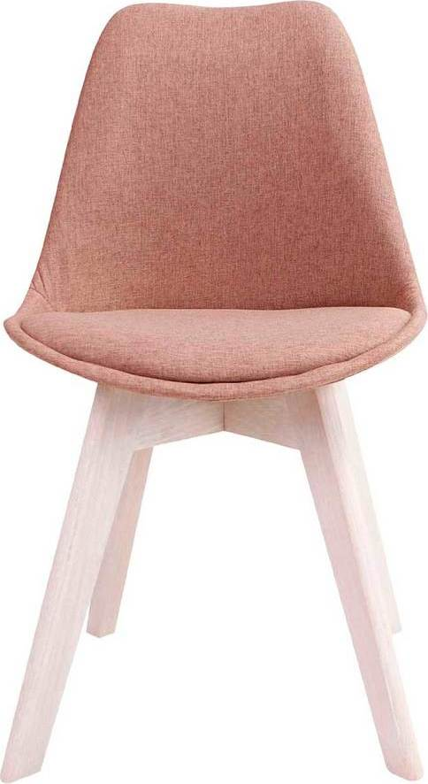 På billedet ser du variationen Spisebordsstol, Rosa fra brandet Preform i en størrelse H: 86 cm. B: 53 cm. L: 49 cm. i farven Rust brun/Hvid