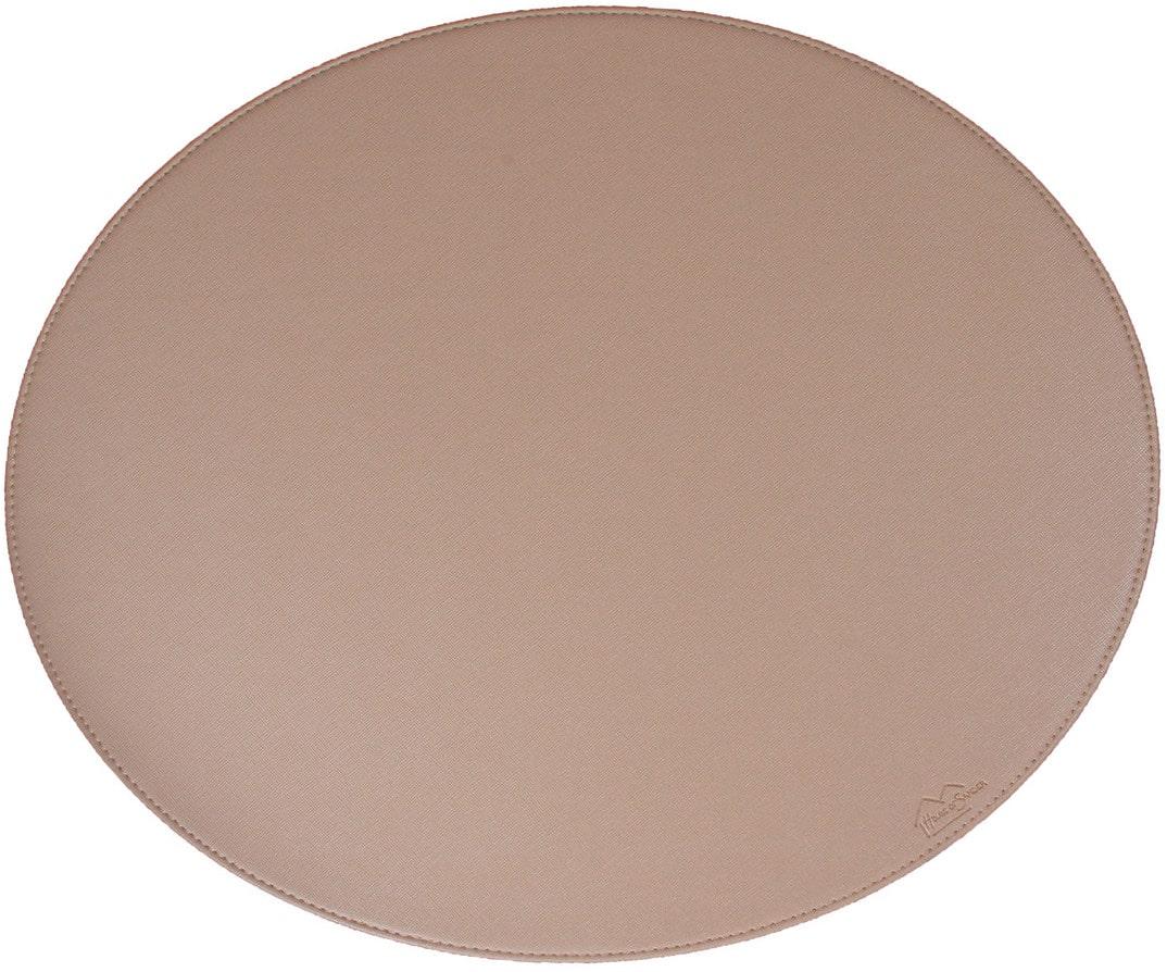 På billedet ser du variationen Dækkeserviet, Blank fra brandet House of Sander i en størrelse H: 36,5 cm. B: 44,5 cm. i farven Beige