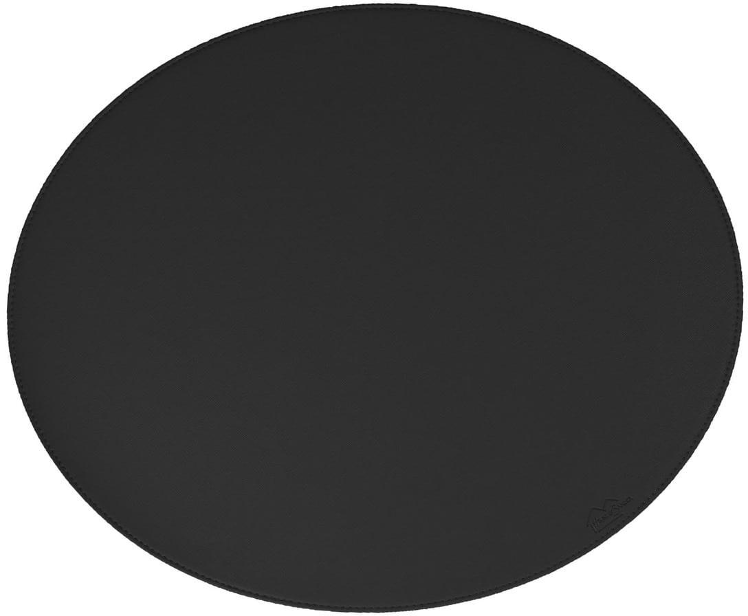 På billedet ser du variationen Dækkeserviet, Blank fra brandet House of Sander i en størrelse H: 36,5 cm. B: 44,5 cm. i farven Sort