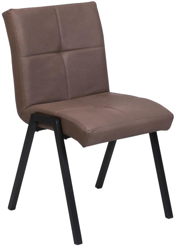 På billedet ser du variationen Spisebordsstol, Heimdal fra brandet House of Sander i en størrelse H: 86 cm. B: 62 cm. L: 51 cm. i farven Brun/Sort