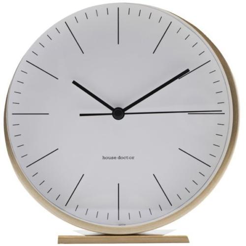 På billedet ser du variationen Alarm Ur, Le fra brandet House Doctor i en størrelse D: 9,2 cm. i farven Guld