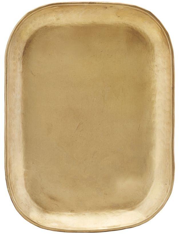På billedet ser du variationen Bakke, Rich fra brandet House Doctor i en størrelse 26.5 x 19.5 cm. x H: 1 cm. i farven Messing