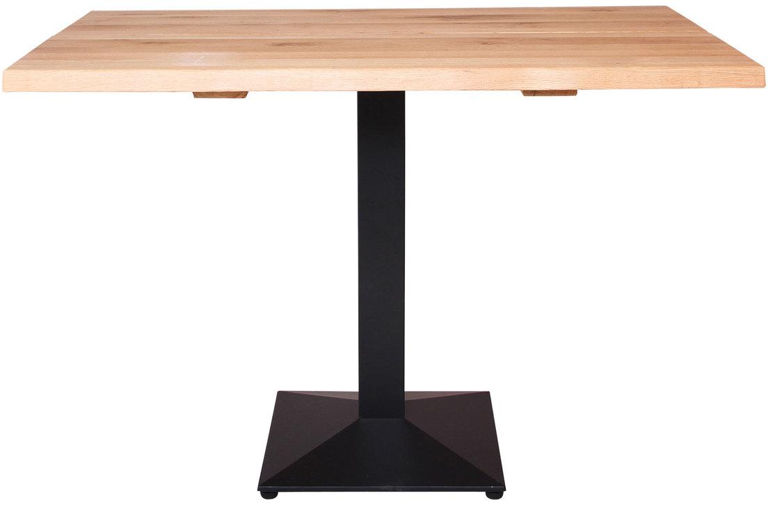 På billedet ser du variationen Cafebord, Curve sofa, Austin Cafe base fra brandet Preform i en størrelse H: 75 cm. B: 80 cm. L: 120 cm. i farven Natur/Sort