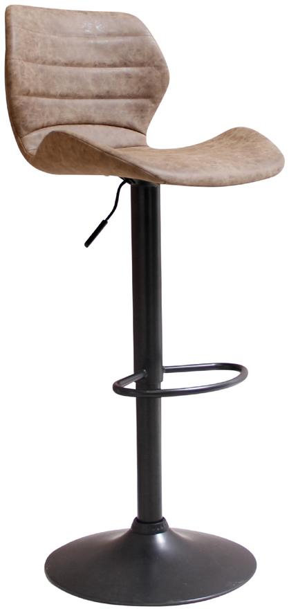 På billedet ser du variationen Barstol, Bola fra brandet House of Sander i en størrelse H: 108 cm. B: 48 cm. L: 46 cm. i farven Brun/Sort