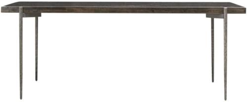 På billedet ser du variationen Spisebord, Close fra brandet House Doctor i en størrelse H: 78 cm. B: 90 cm. L: 200 cm. i farven Mørk Natur/Jern