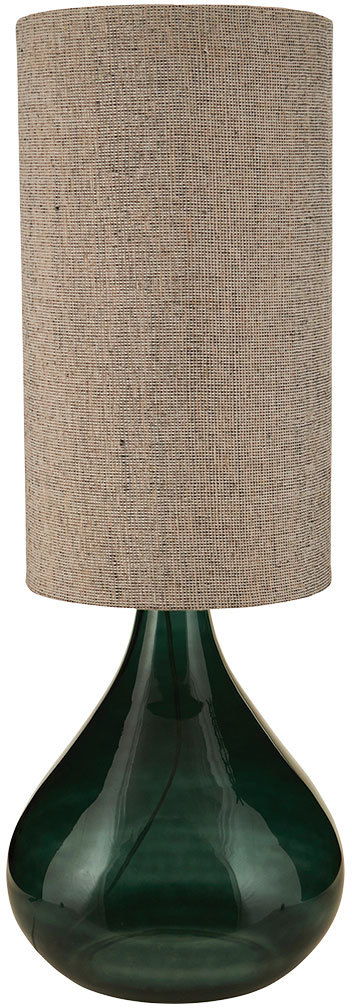 På billedet ser du variationen Big, Bordlampe fra brandet House Doctor i en størrelse D: 34 cm. x H: 64 cm. i farven Mørkegrøn