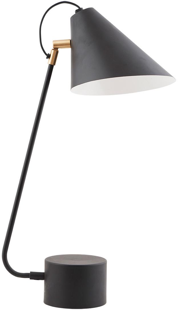 På billedet ser du Club, Bordlampe fra brandet House Doctor i en størrelse D: 18-20 x cm. x H: 54 cm. i farven Sort