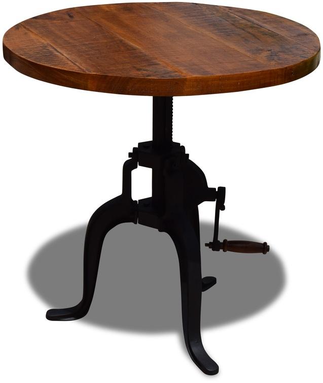 På billedet ser du Cafebord, Danegeld fra brandet OBUZI i en størrelse D: 60 cm. H: 50 cm. i farven Rød/Sort