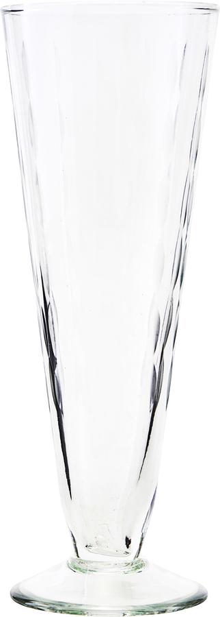 På billedet ser du variationen Champagneglas, Vintage fra brandet House Doctor i en størrelse D: 7 cm. H: 20 cm. i farven Glas