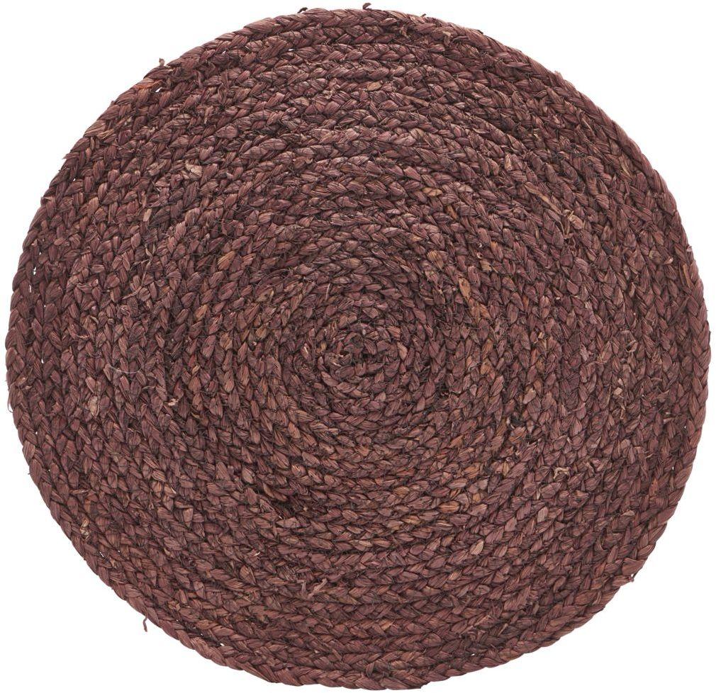 På billedet ser du variationen Dækkeserviet, Circle fra brandet House Doctor i en størrelse D: 38 cm. i farven Brændt henna