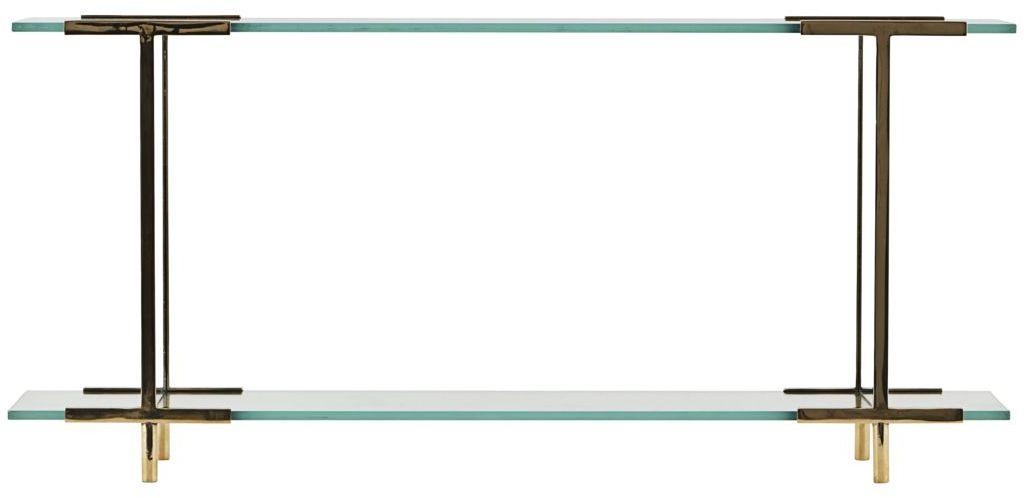 På billedet ser du variationen Display, Pure fra brandet House Doctor i en størrelse 13 x 60 cm. x H: 28 cm. i farven Messing