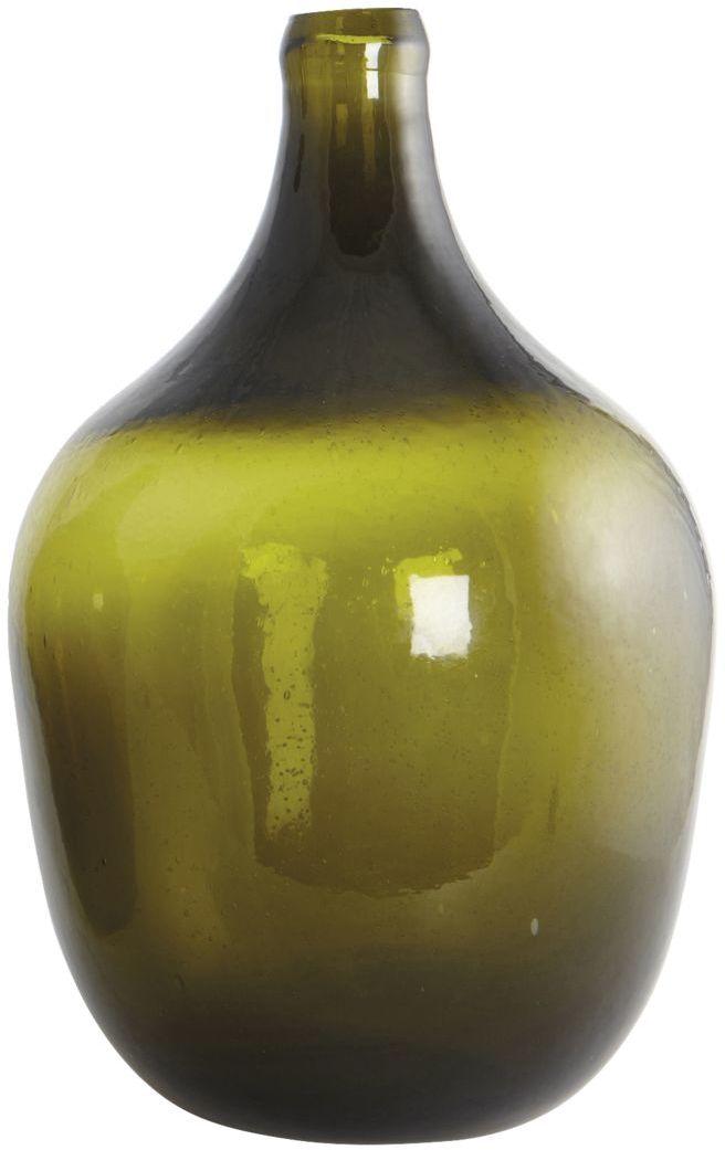 På billedet ser du variationen Rec, Flaske, Retro fra brandet House Doctor i en størrelse D: 24 cm. x H: 38 cm. i farven Grøn