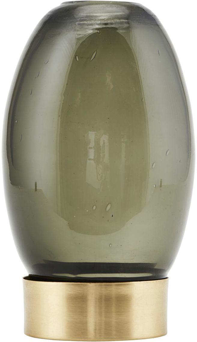 På billedet ser du variationen Fyrfadsstage, Mushroom fra brandet House Doctor i en størrelse D: 9 cm. x H: 14 cm. i farven Grå