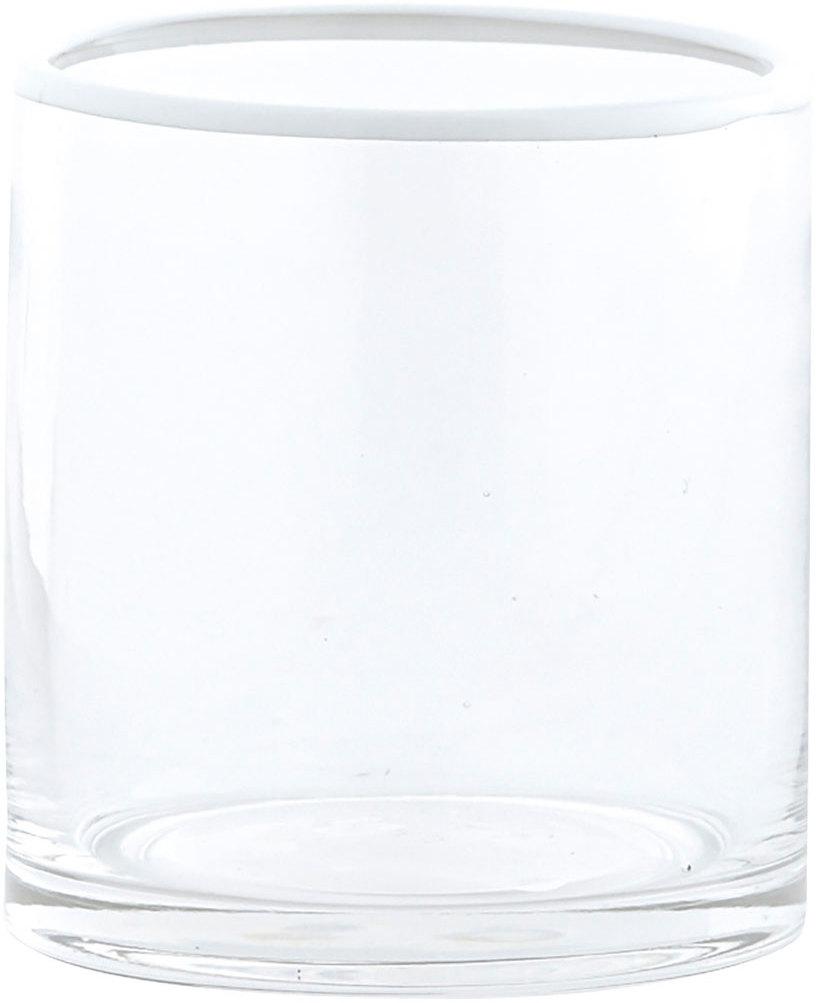 På billedet ser du variationen Rim, Glas fra brandet House Doctor i en størrelse D: 8 cm. x H: 9 cm. i farven Klar