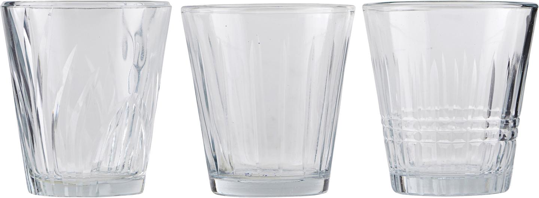 På billedet ser du variationen Glas, Vintage fra brandet House Doctor i en størrelse D: 7,5 cm. H: 8,5 cm. i farven Glas