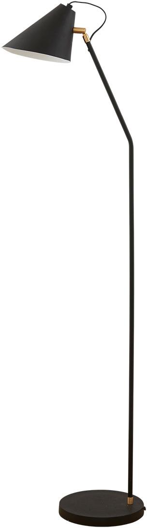 På billedet ser du variationen Gulvlampe, Club fra brandet House Doctor i en størrelse D: 18-20 cm. x H: 130 cm. i farven Sort