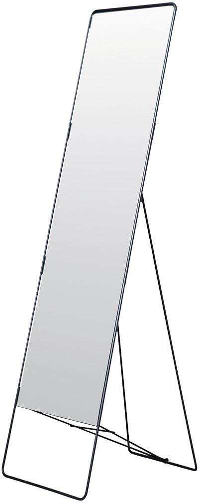 På billedet ser du variationen Chic, Gulvspejl fra brandet House Doctor i en størrelse 45 x 175 cm. i farven Sort
