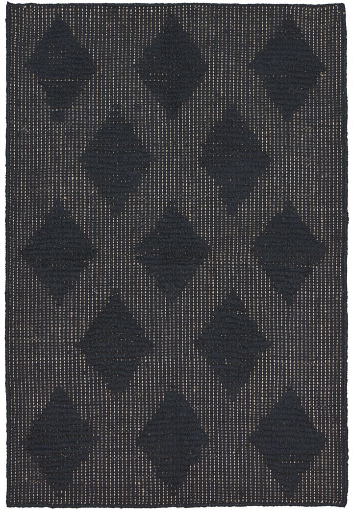 På billedet ser du variationen fra brandet House Doctor i en størrelse 85 x 130 cm. i farven Sort