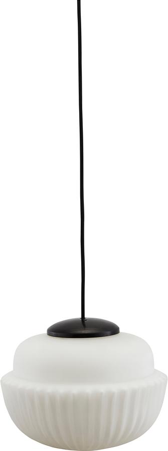 På billedet ser du variationen Hængelampe, Acorn fra brandet House Doctor i en størrelse D: 29 cm. H: 21,5 cm. i farven Hvid